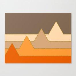 Orange Mountains #society6 #decor #buyart Canvas Print