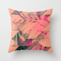 lyyf tryp Throw Pillow