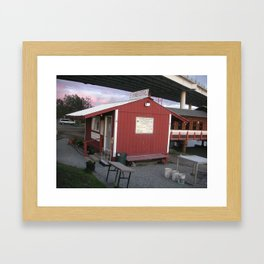 Gone Fishin', Alaskan Style #2 Framed Art Print