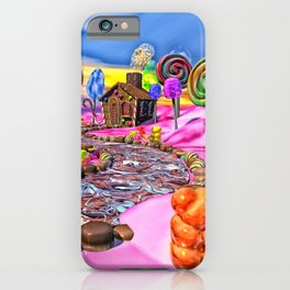 Pink Candyland iPhone Case