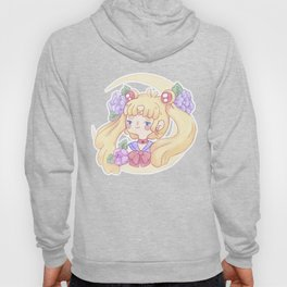 Sailor Moon & Peonies Hoody