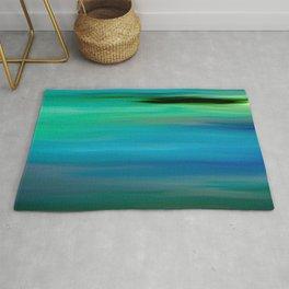 Seascape - blurography Rug