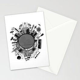 Drums & Percussion Stationery Cards