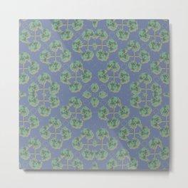 Cranesbill Green Metal Print