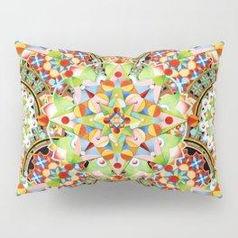 Circus Pastel Mandala Pillow Sham