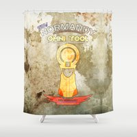 tool Shower Curtains featuring Omni Tool by AngoldArts