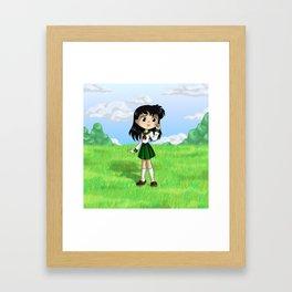 Kagome Framed Art Print