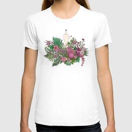 Botanical Bird Bouquet T-shirt