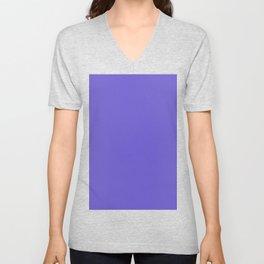 color slate blue Unisex V-Neck