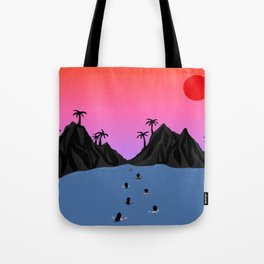 Swim Together Tote Bag