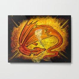 Sleeping dragon... Metal Print