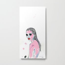 Zehn Mädchen. Metal Print