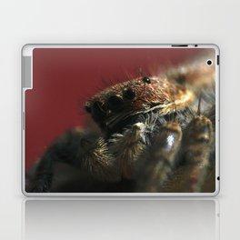 Spider on Red Laptop & iPad Skin