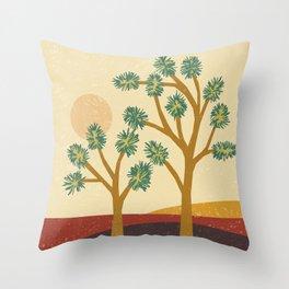 Joshua Tree (Sacred Conversation) Throw Pillow