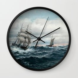 Martin Aagaard - Full Sail Wall Clock