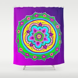 Morning Bollywood Shower Curtain