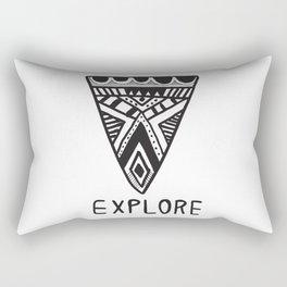 Explore Mindset Rectangular Pillow