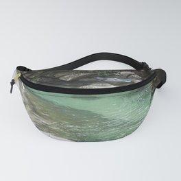 Green Lagoon Fanny Pack