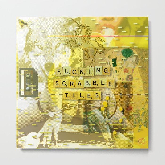 Let Me Check My Calendar < The NO Series (Yellow) Metal Print