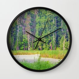 Within the Polder Waters Wall Clock