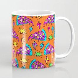 Crazy space alien pizza attack! #2 Coffee Mug