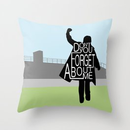 The Breakfast Club Throw Pillow