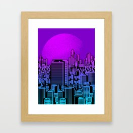 Cityscape collage 01A Framed Art Print