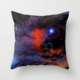 SPACE XXVXIV Throw Pillow