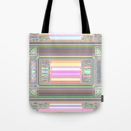 Moderne Glitch Tote Bag