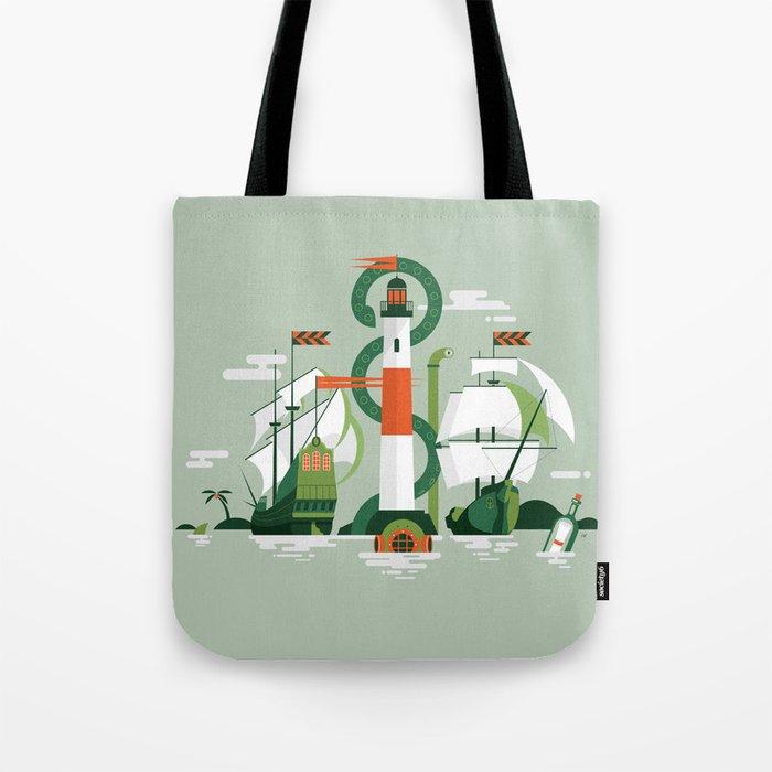 Sea of Adventure Tote Bag