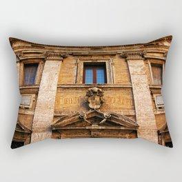 S. Maria in Trivio church in Rome Rectangular Pillow