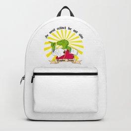 Buddy Raptor Jesus - English version Backpack