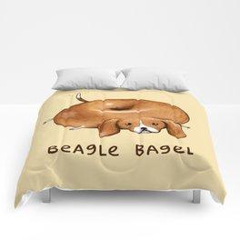 Beagle Bagel Comforters