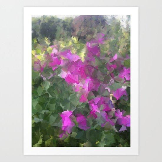 Canadian Wildflowers Art Print