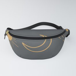 Sun, Moon and Stars Fanny Pack