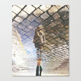 check your surroundings Canvas Print