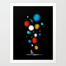 The Worlds Ahead of You Art Print