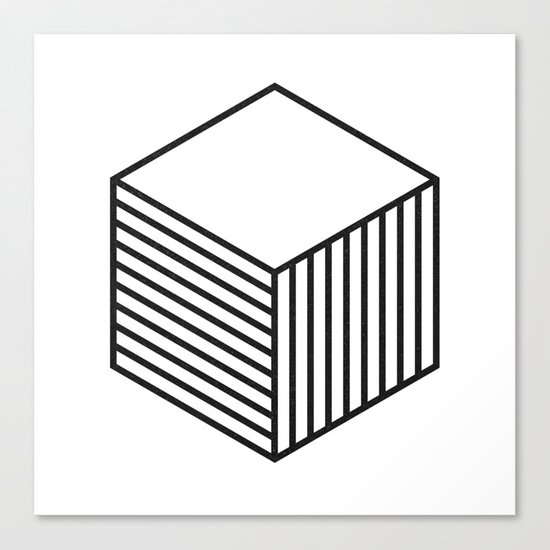 minimal & geometric no.4 Canvas Print