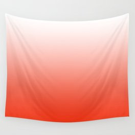Festive Red Gradient Wall Tapestry