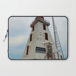 Cape Egmont Lighthouse and Communication Tower Laptop Sleeve