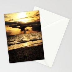 Crepuscular light  Stationery Cards