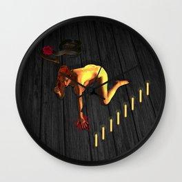 Lady MacBeth by Gauntt Wall Clock
