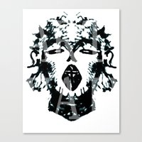 madonna Canvas Prints featuring Madonna  by yvaingeni