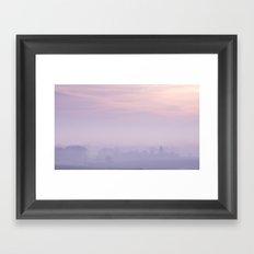 Still Mist Framed Art Print