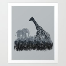 The Tall Grass Art Print