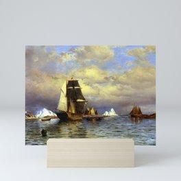 William Bradford Looking out of Battle Harbor Mini Art Print