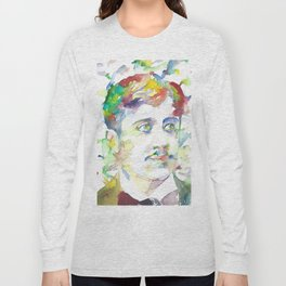 MARCEL PROUST - watercolor portrait.1 Long Sleeve T-shirt