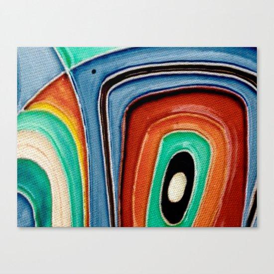 The Kandinsky's Chubby Bird 1 Canvas Print