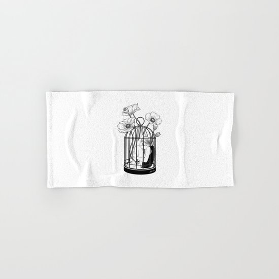 The Loner Hand & Bath Towel