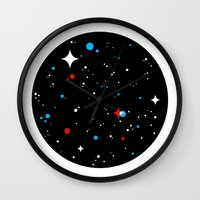 universe Wall Clocks featuring Universe by Terry Mack